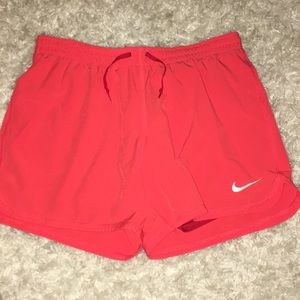 NIKE Shorts with built in compressions